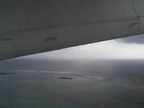 lord howe island plane taking off