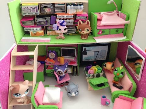 How to make a LPS / Doll room / loft