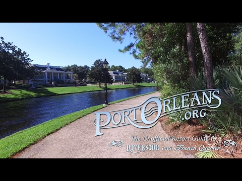 A ten minute walk from Port Orleans Riverside to French Quarter (4K)