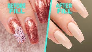 Nail Fill and Rebalance - Step By Step Tutorial