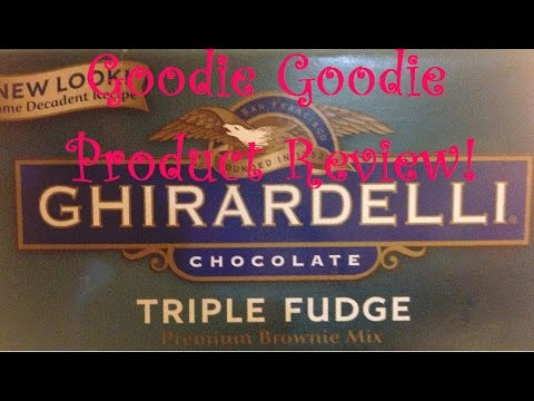 Ghirardelli Product Review