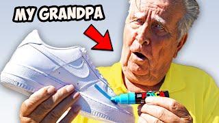 Customizing Air Force, then surprising my Grandpa!!
