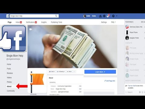 How to Change Facebook Page Category, Name and URL 2018 Tips