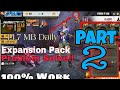 Expansion Pack Daily Download Problem Fix In Free FirePART 2New Tricks