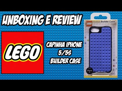 Lego Builder Case iPhone 5/5S [unboxing e review]