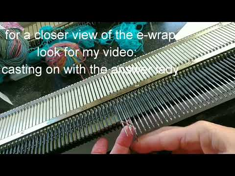 Single Bed Socks for standard gauge knitting machines