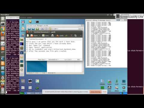 Demo of GSoC Project