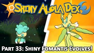 Shiny Fomantis! Pokemon Sun and Moon | Daikhlo