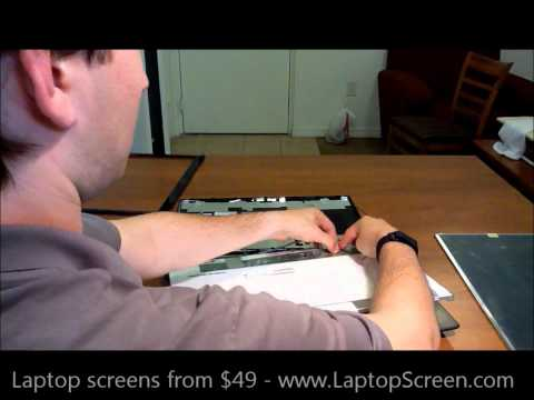 Laptop screen replacement / How to replace laptop screen [Acer Aspire 7750G-9657]