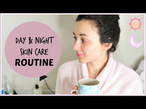 DAY AND NIGHT SKIN CARE ROUTINE | THE BEST PRODUCTS I'VE USED