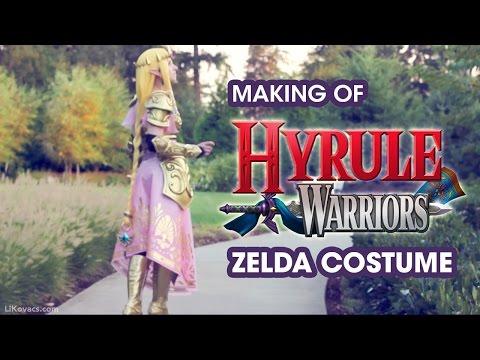 COSTUME SHOWCASE // Making of Hyrule Warriors Zelda Costume