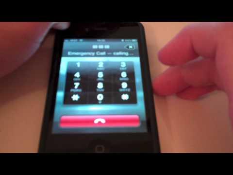 iPhone Emergency Call Exploit iOS 4.1