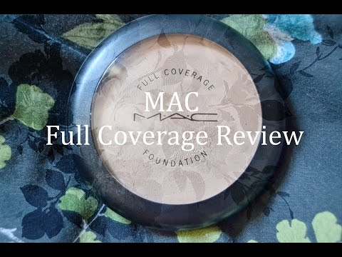 MAC Full Coverage Foundation Review