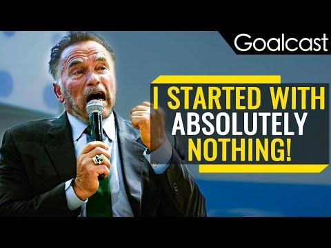 Arnold Schwarzenegger's Most Inspiring Speech (Motivation)   Goalcast