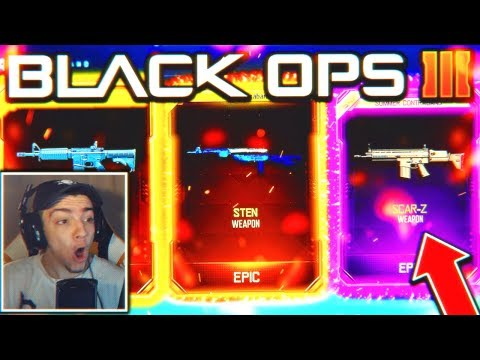 New DLC Weapon Supply Drop Opening... (BO3)