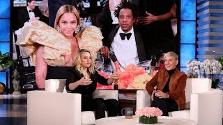 Beyoncé & Jay-Z Left Kate McKinnon Speechless at the Golden Globes