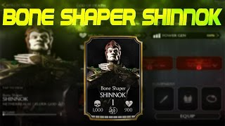 Bone Shaper Shinnok! Mortal Kombat X (MKX) 1.7! IOS Android Gameplay!