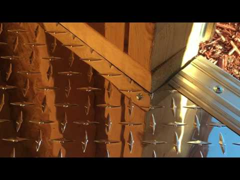 How to install an aluminum diamond plate floor (Part 2)