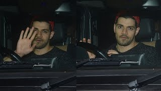 Sooraj Pancholi Spotted Outside Hakkasan Restaurant After Dinner With His Friends