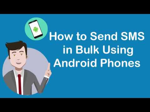 📌How to Send Bulk SMS Using ANDROID Phone App? | 💯% Guaranteed Result
