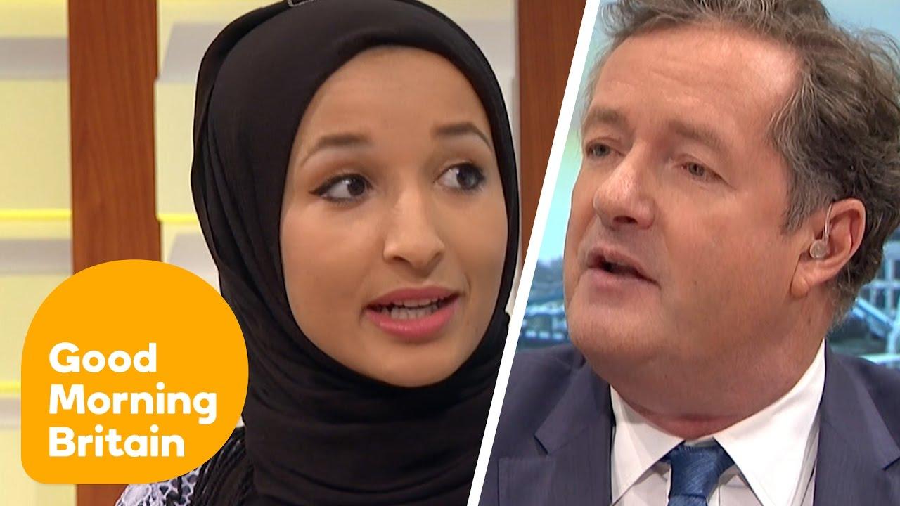 Download Piers Morgan Debates Headscarf Ban With Muslim Women   Good Morning Britain MP3 Gratis