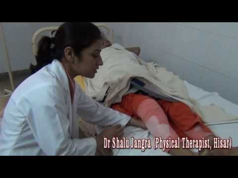 Physical Therapy after Total Knee Replacement ~ Dr Shalu Jangra (Hindi)