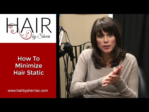 How-To Minimize Winter Hair Static