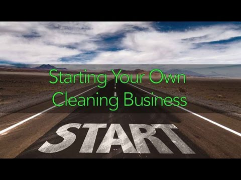 Starting Your Own Cleaning Business featuring Gabriel Manis