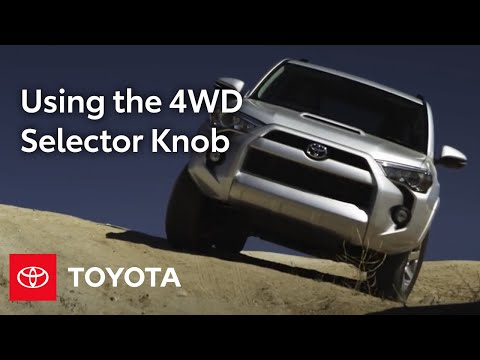 2014 4Runner How-To: 4WD Selector Knob | Toyota