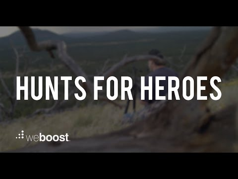 Hunts For Heroes - Hunting With Veterans | weBoost