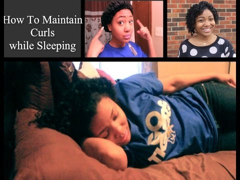 How I Maintain Curls All Week | Sleeping To Make Your Style Last