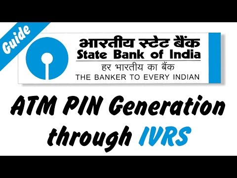 How to Generate ATM PIN Through IVRS [State Bank of India]