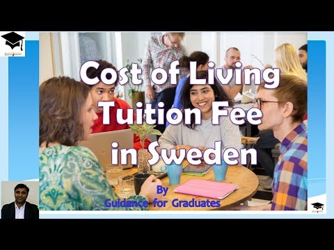 Tuition Fee ,Cost of Living and Scholarships in Sweden, Study in sweden