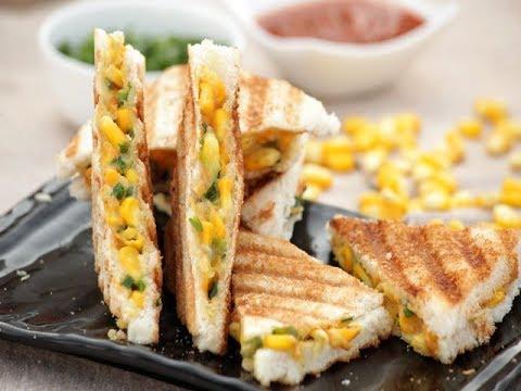 Cheese Corn sandwich/ How to make  Cheese Corn sandwich