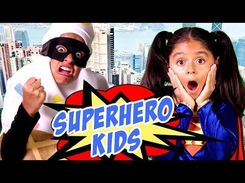 Elementary School Humor - Homework Vs Save The World - Primary School : SKETCH COMEDY // GEM Sisters
