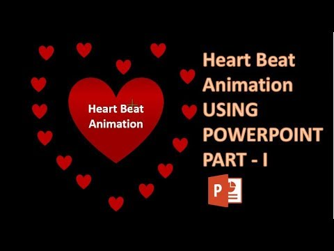 Heart Beat  Animation in Powerpoint part I