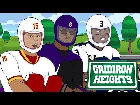 Russell WiIson, Lamar Jackson Battle for MVP Go-Kart Style | Gridiron Heights S4E13
