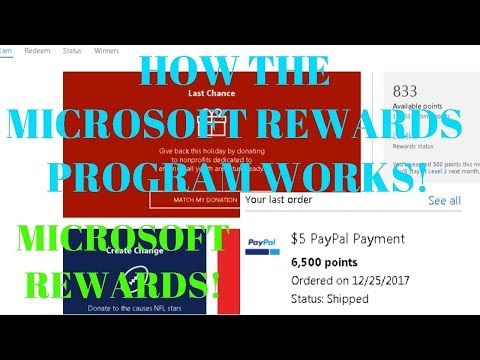 How to Use The Microsoft Rewards Program to Get Free Xbox Live Gold, Enter Contests, And MORE!