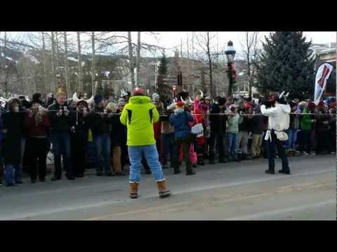 New World Record: World's Longest Shot Ski Breckenridge CO