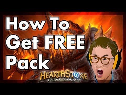 Hearthstone - How To Get FREE Pack + Legendary