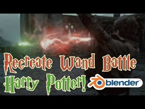 Recreate the Wand Battle from Harry Potter! - Blender VFX Tutorial!