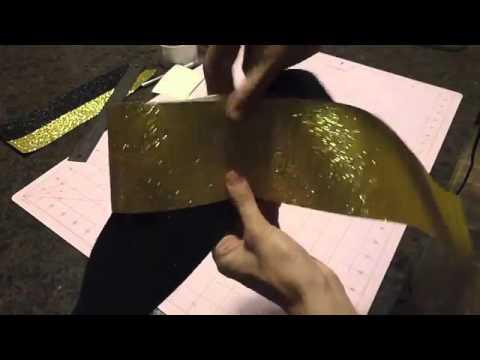 $5 DIY Glitter Cheer Bow