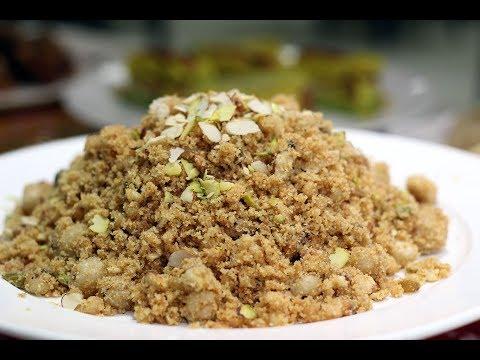 Panjiri full recipe urdu hindi    Best dish in winter    How to make panjiri