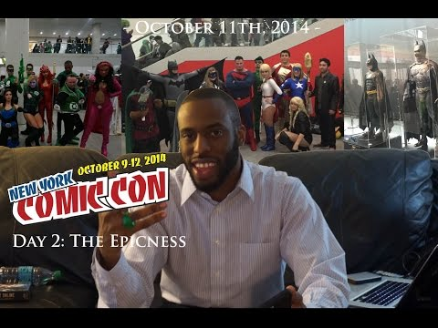 New York Comic-Con 2014 - Day 2: The Epicness (NYCC 2014)