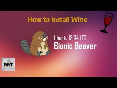 How to install Wine on Ubuntu 18.04