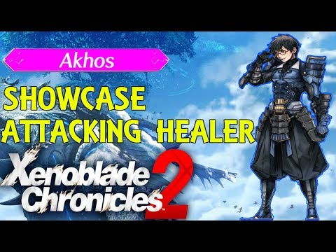 Xenoblade Chronicles 2 - Akhos Showcase (Attacking Healer)