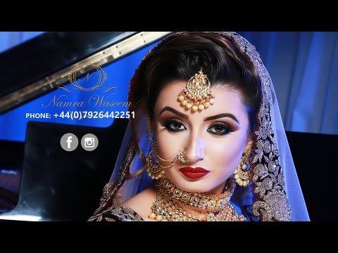 Asian Bridal Makeup 2017   Namra Waseem Bridals