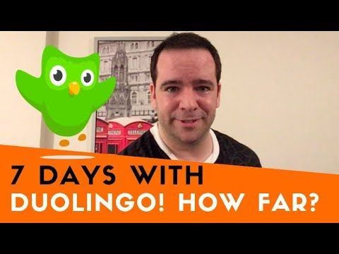 7 Days With Duolingo: How Far Can You Get?!