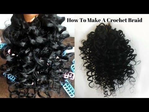 How To Make Crochet Braids (Beginner Friendly) | DIY Curly Crochet Braids