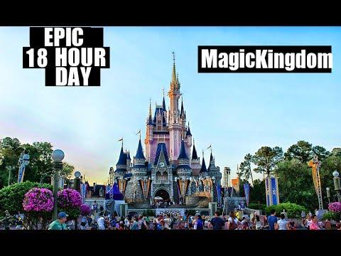Walt Disney World EPIC 18 Hour Perfect Day At Magic Kingdom!